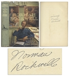 Norman Rockwell Signed Autobiography My Adventures as an Illustrator With Unclipped Dust Jacket