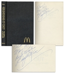 McDonalds CEO Ray Kroc Twice Signed Book, Grinding It Out: The Making of McDonalds