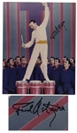 Fred Astaire Signed Color 8 x 10 Photo -- Fine