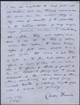 Charles Darwin Signed, Handwritten & Powerful Conclusion Page From Origin of Species -- ...science as yet throws no light on the far higher problem of the essence or origin of life...