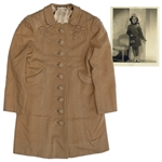"Shirley Temple Screen-Worn Coat From 1938 Film ""Little Miss Broadway"""