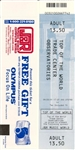 World Trade Center Ticket From 2001