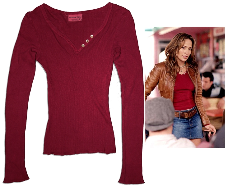 Jennifer Lopez Screen-Worn Costume From ''Gigli''