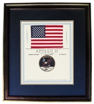 Apollo 11 Space-Flown U.S. Flag -- From the Collection of Buzz Aldrin