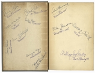 Gone With the Wind Cast Signed Novel -- Signed by 12, Including Clark Gable, Vivien Leigh, Olivia de Havilland, Leslie Howard & Hattie McDaniel -- With PSA/DNA COA