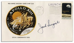 Jack Swigerts Personally Owned & Signed Apollo 13 First Day Cover