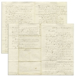 Civil War Letter, Chronicling Shermans March -- ...our brigade...proceeded to give them a few pointed instructions in skirmishing... & ...passed Marietta and Atlanta...partially burned...