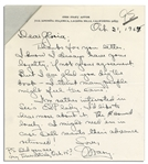 Mary Astor 1967 Autograph Letter Signed -- To Her Agent, Regarding Her Upcoming Novel, A Place Called Saturday