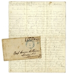 Civil War Letter by 14th Virginia Infantryman -- ...been down to Yankeedom...burnt a good deal of valuable lumber & captured five Yankees...They were indeed very much surprised to see our men...