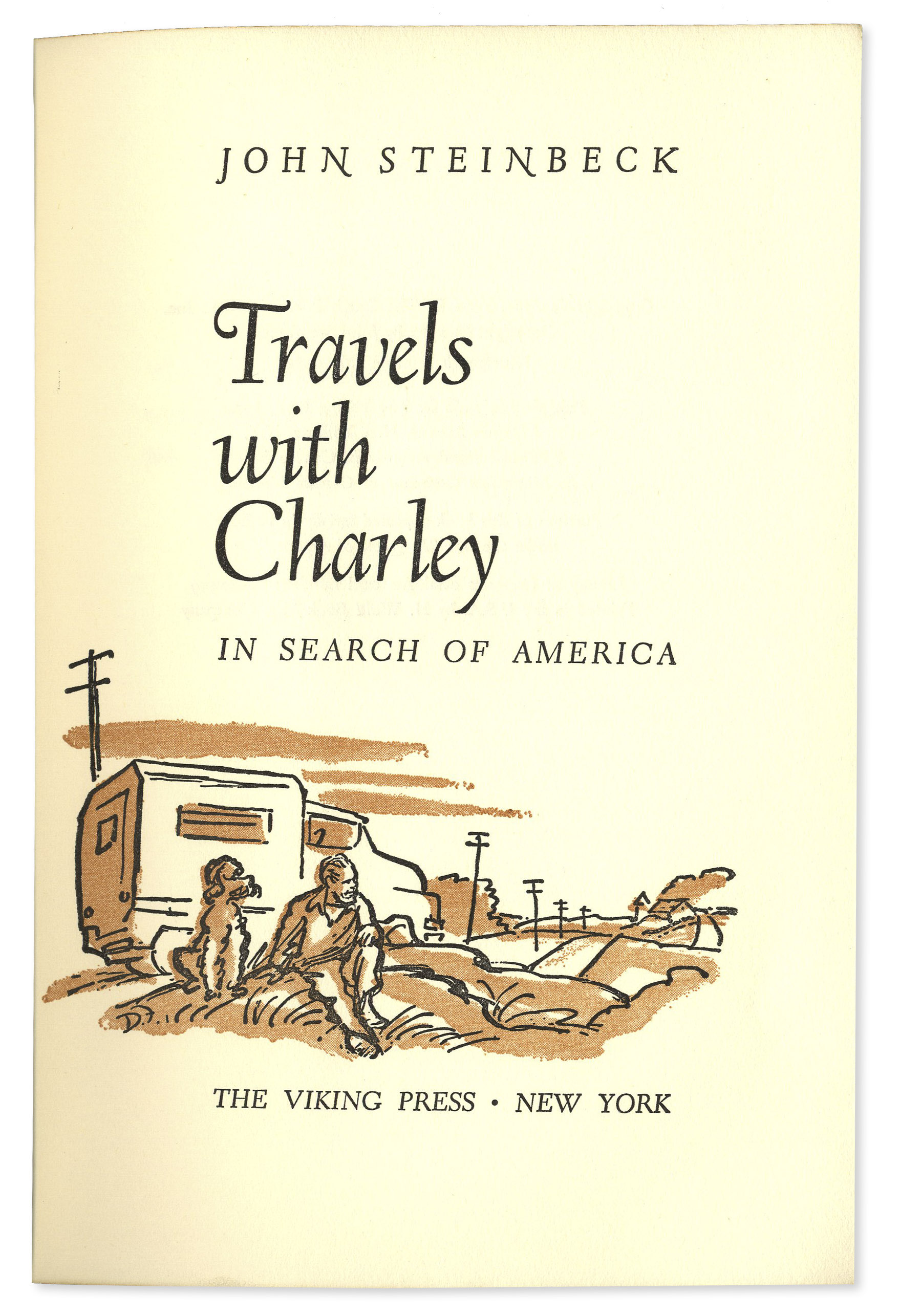 travels with charley essay A discussion of important themes running throughout travels with charley: in search of america great supplemental information for school essays and projects.