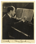 George Gershwin Signed Photograph