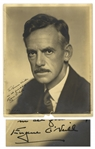 Eugene ONeill Signed 8 x 10 Photograph