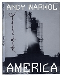 Andy Warhol Signed America