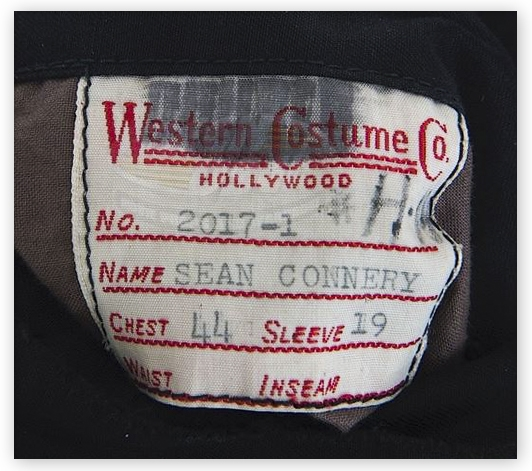 Sean Connery Screen-Worn Jacket From 1970 Film ''The Molly Maguires''