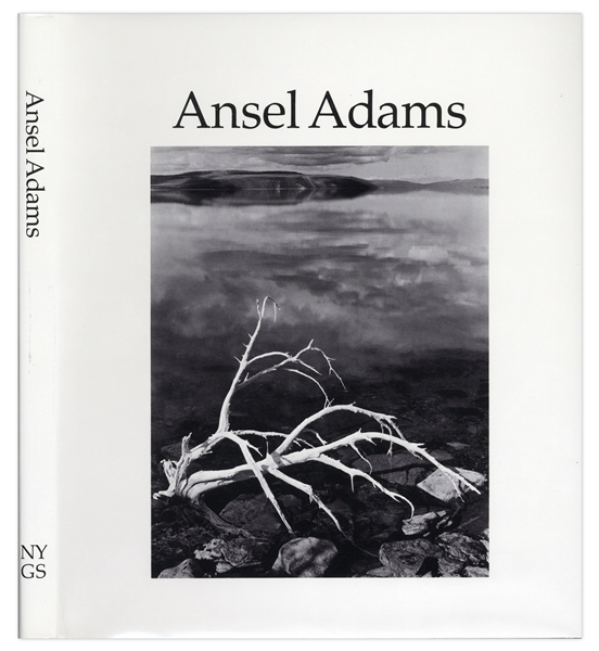 Ansel Adams Signed ''Ansel Adams'' Photography Book -- Beautiful Compilation of Photographs