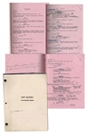 Lloyd Bridges Personal Copy of Hot Shots! Movie Script -- With Hand Annotations by Bridges