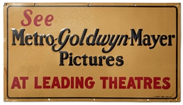 Vintage MGM Sign From 1940s