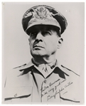 Douglas MacArthur Signed 8 x 10 Photo in WWII Uniform