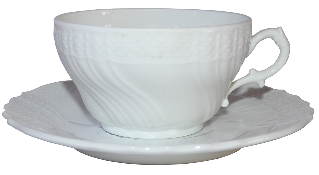 Ronald & Nancy Reagan Personally Owned & Used Cup & Saucer