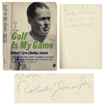 Bobby Jones Signed Copy of Golf Is My Game