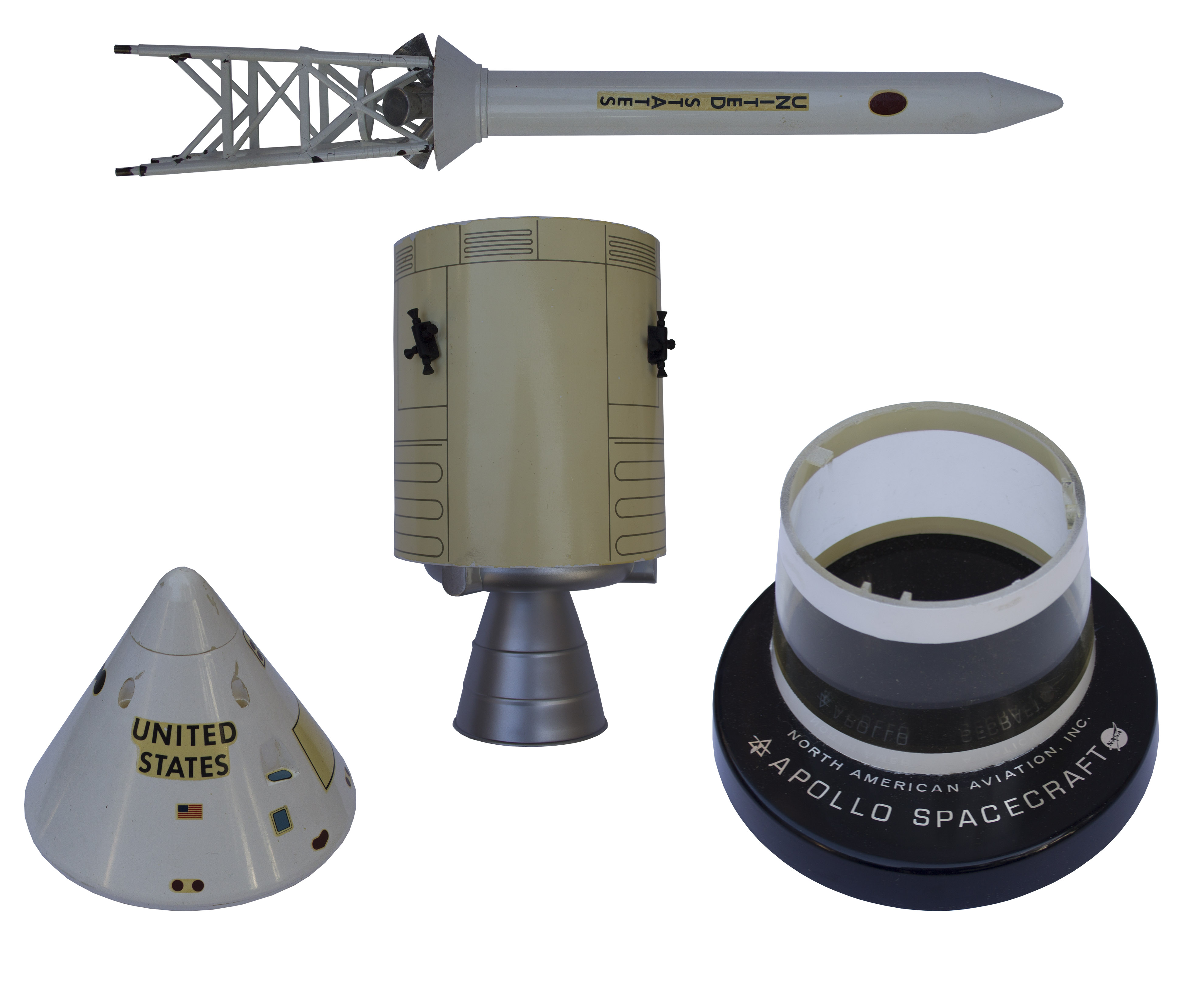 Lot Detail - Apollo Spacecraft Model by North American ...