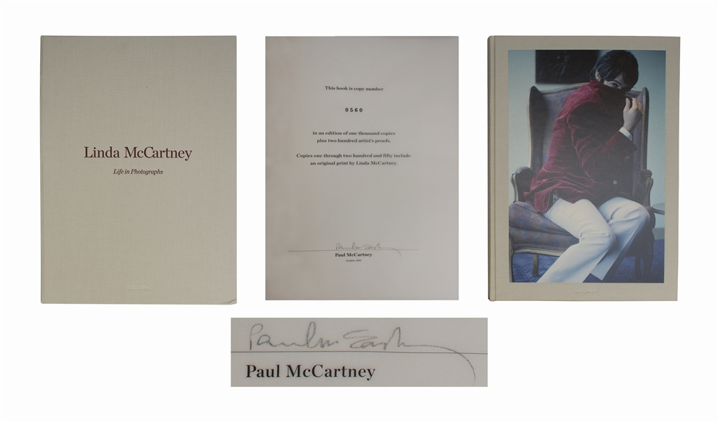 Paul McCartney Signed ''Life in Photographs'' -- Taschen Limited Edition Photo Book