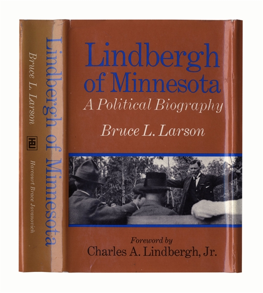 Charles Lindbergh Signed Copy of ''Lindbergh of Minnesota'' -- Near Fine