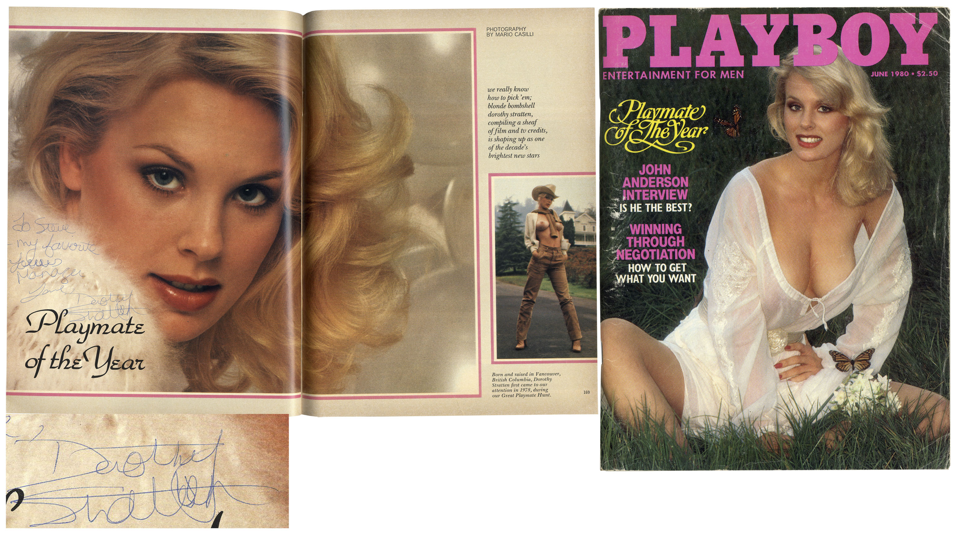 Dorothy stratten playmate of the year