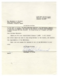 Elijah Muhammad Letter Signed From 1968 as the Nation of Islam Leader -- ...the registration of the Believers...