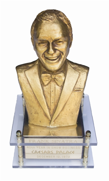 Frank Sinatra Owned Music Box -- Given by Sinatra in 1979 to Commemorate His 40 Years in Show Business