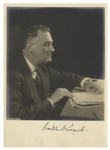 Franklin D. Roosevelt Signed Photo -- By Photographer Harris & Ewing