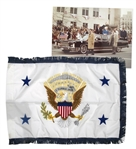 U.S. Vice Presidential Limousine Flag -- Used in George H.W. Bushs Motorcade