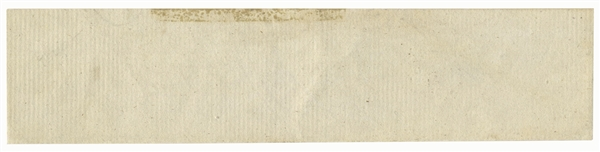 George Washington Franking Signature
