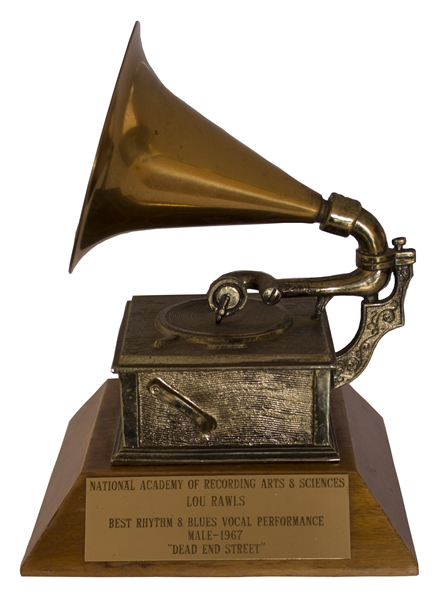 Grammy Award to Lou Rawls for the Hit ''Dead End Street''