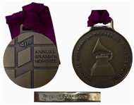 Grammy Nominee Award -- Cast in Bronze by Tiffanys