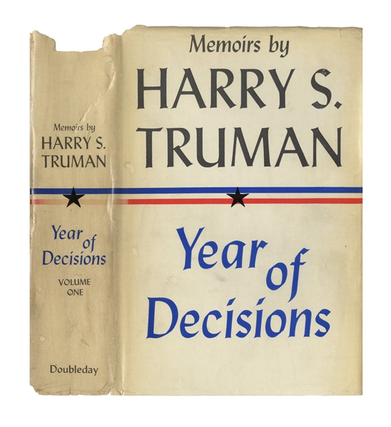 Harry Truman Signed ''Memoirs'' -- Inscribed to Photographer Extraordinaire Alfred Eisenstaedt