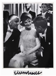 Alfred Eisenstaedt Signed 11 x 14 Photograph of John F. Kennedy, Jackie Kennedy & Lyndon Johnson -- From the 1961 Inaugural Ball