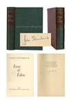 John Steinbeck Signed East of Eden First Limited Edition in Original Slipcase -- Near Fine