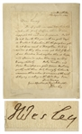 John Wesley Autograph Letter Signed -- The Methodist Founder Gives Advice to a Missionary: ...lovingly...convince those whom it concerns, of the evil of buying or selling on the Lords Day...