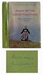 Julie Andrews & Maria von Trapp Signed Book -- Featuring Andrews From The Sound of Music on the Cover -- With PSA/DNA COA