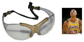 Kareem Abdul-Jabbar Game-Worn Goggles -- Worn During the 1980s With the Lakers