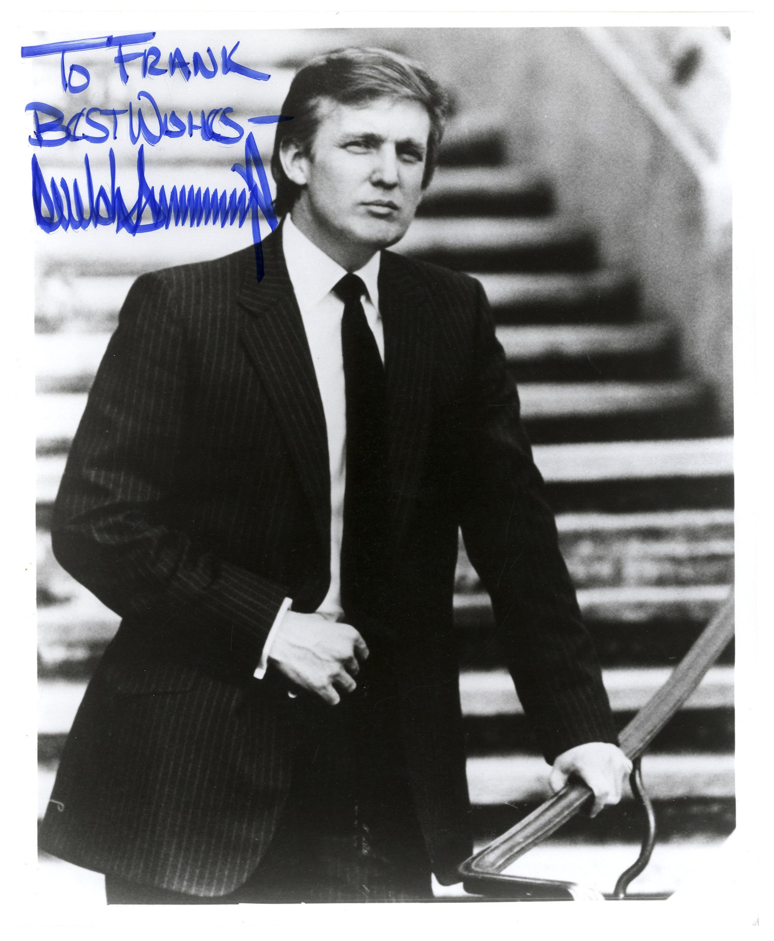 Lot Detail - Donald Trump Signed 8'' x 10'' Photo