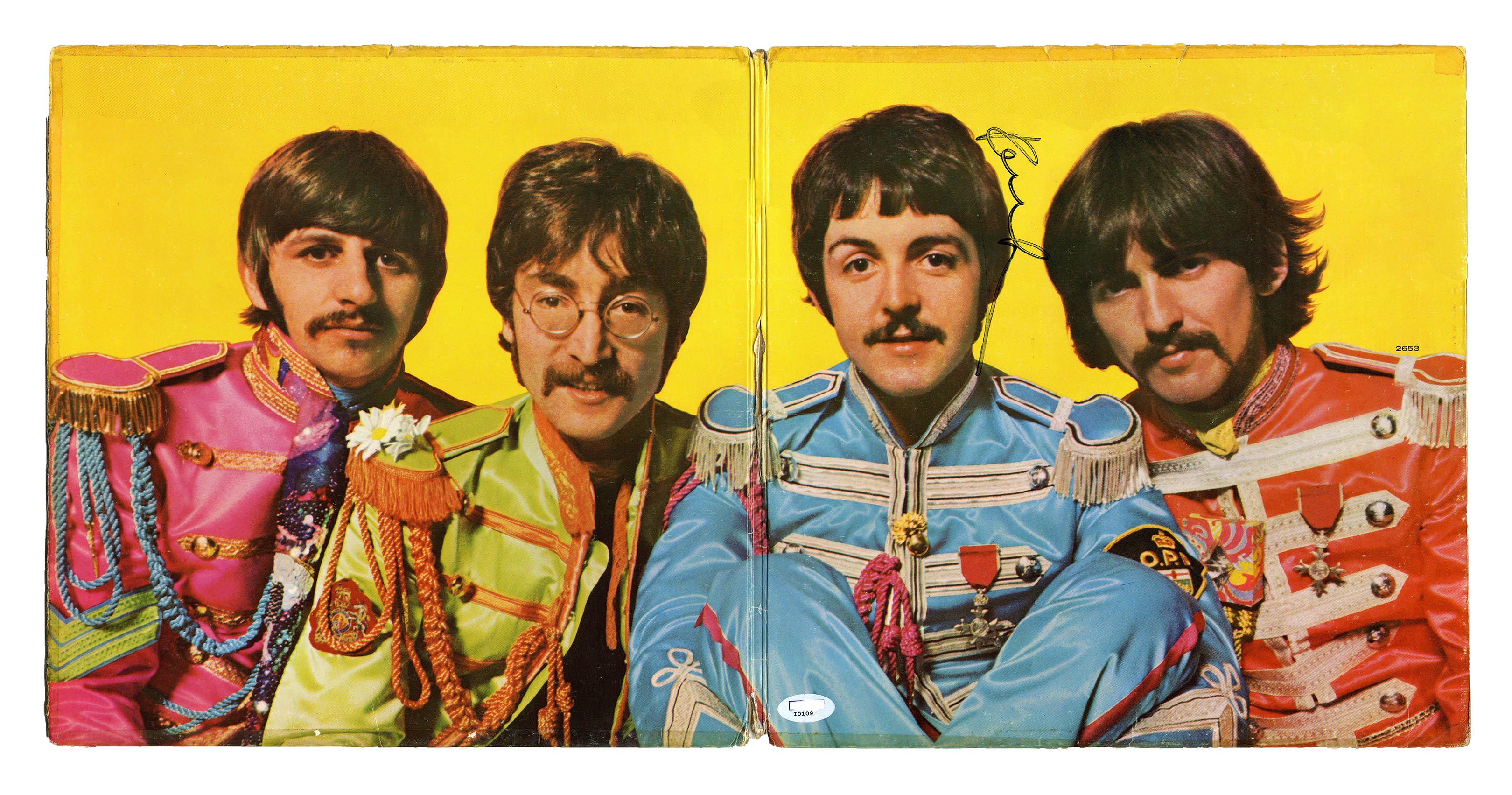 Lot Detail Paul Mccartney Signed Sgt Pepper S Lonely