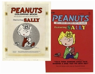 Printing Mock-Up for the Peanuts Coloring Book Featuring Sally -- Nice Peanuts Display Item