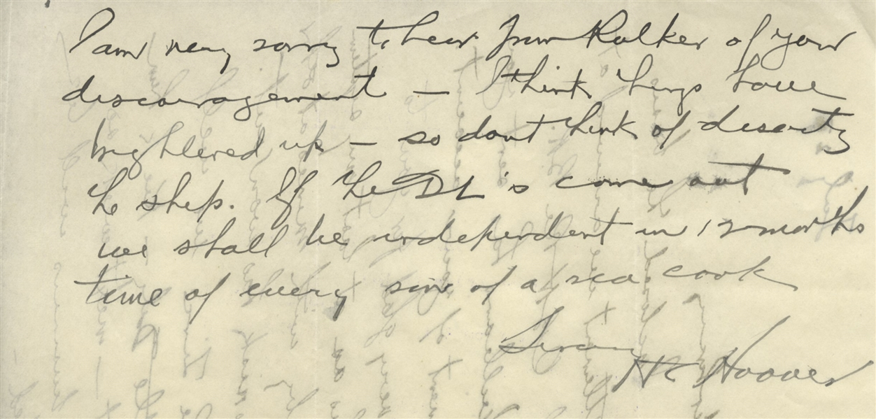 Herbert Hoover Autograph Letter Signed as a Mining Executive -- ''...thus getting the effective control entirely into our hands...''