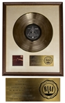 Pink Floyd RIAA Platinum Award for The Dark Side of the Moon Personally Owned by Founding Member Richard Wright -- With LOA From Franka Wright