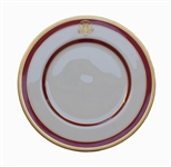 Ronald Reagan White House China Plate -- THE WHITE HOUSE / 1981