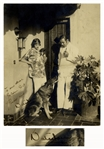 Rudolph Valentino Signed Photo -- To our dear Golden Girl