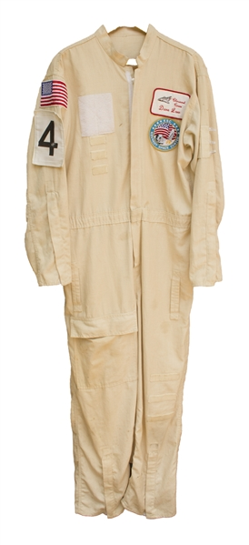 Jumpsuit Worn by Space Shuttle Closeout Crew Member
