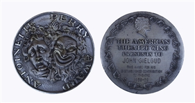 John Gielguds Tony Award for the Shakespearean Ages of Man -- Gielgud Is One of Only 12 EGOT Winners, Who Have Won an Emmy, Grammy, Oscar & Tony Award